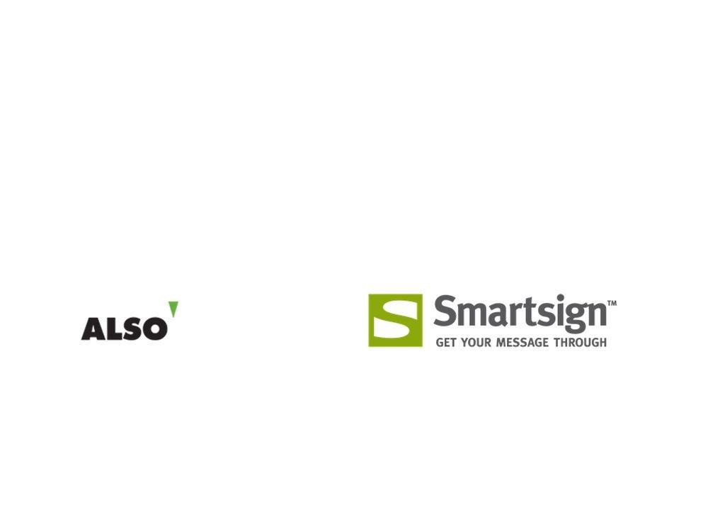ALSO und Smartsign kooperieren in D und AT (Grafiken: ALSO; Smartsign)