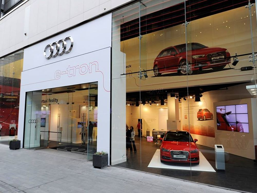 Pop Up in London: Audi e-tron Experience Centre (Foto: SOMO)
