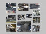 Neue LED Screens: Bauarbeiten im November und Dezember 2014 (Fotos: Sapporo Dome Co.; Montage: invidis.de)