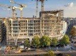 Baufortschritt bei Le Toison D'Or im Oktober 2014 (Foto: ProWinko)