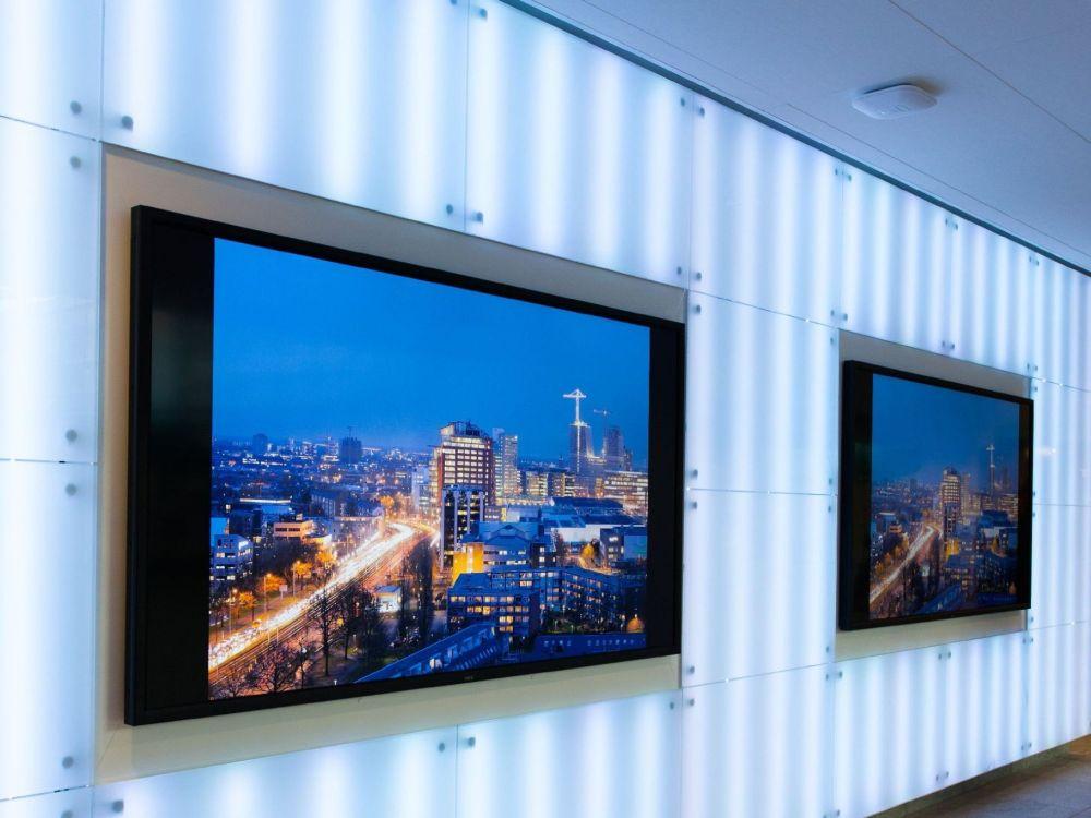 City Council Utrecht: 70 Zoll-Displays im Verwaltungsgebäude (Foto: Brightsign)