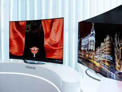 Curved OLED TV von LG (Foto: LG)