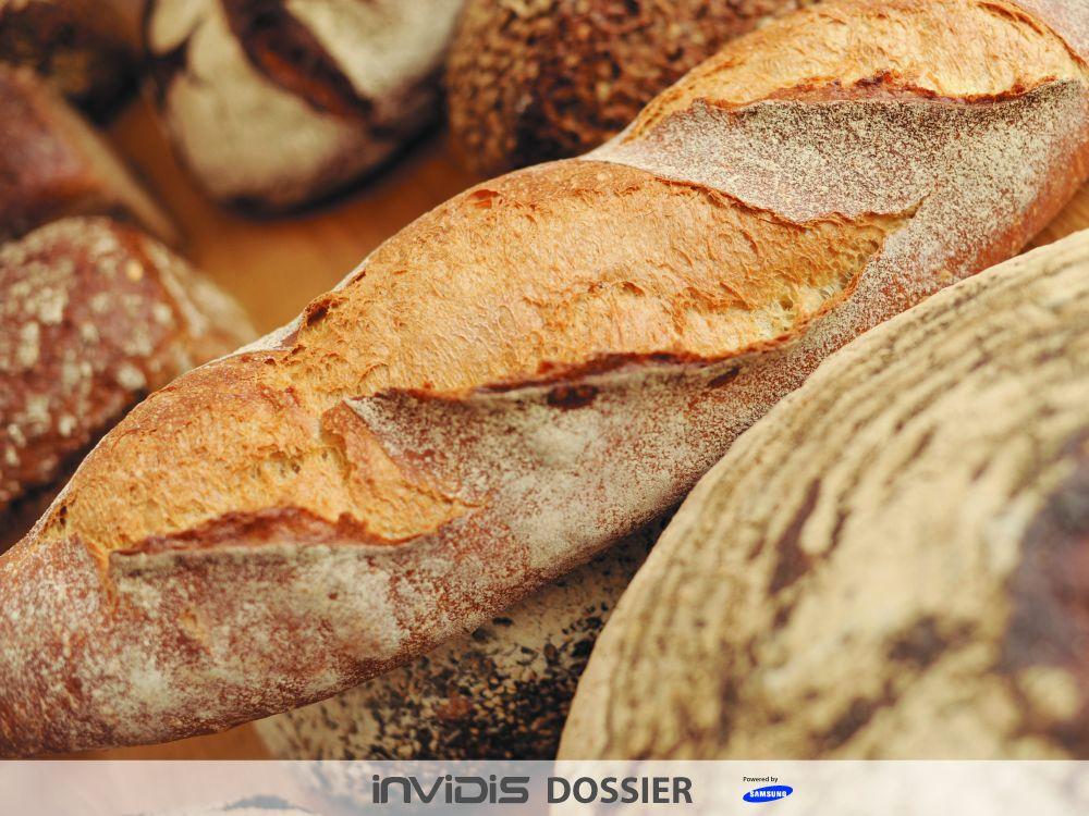 Modernes Handwerk: Digital Signage und Bäckereien (Foto: Darius Ramazani/ Zentralverband des Deutschen Bäckerhandwerks; Grafik: invidis)