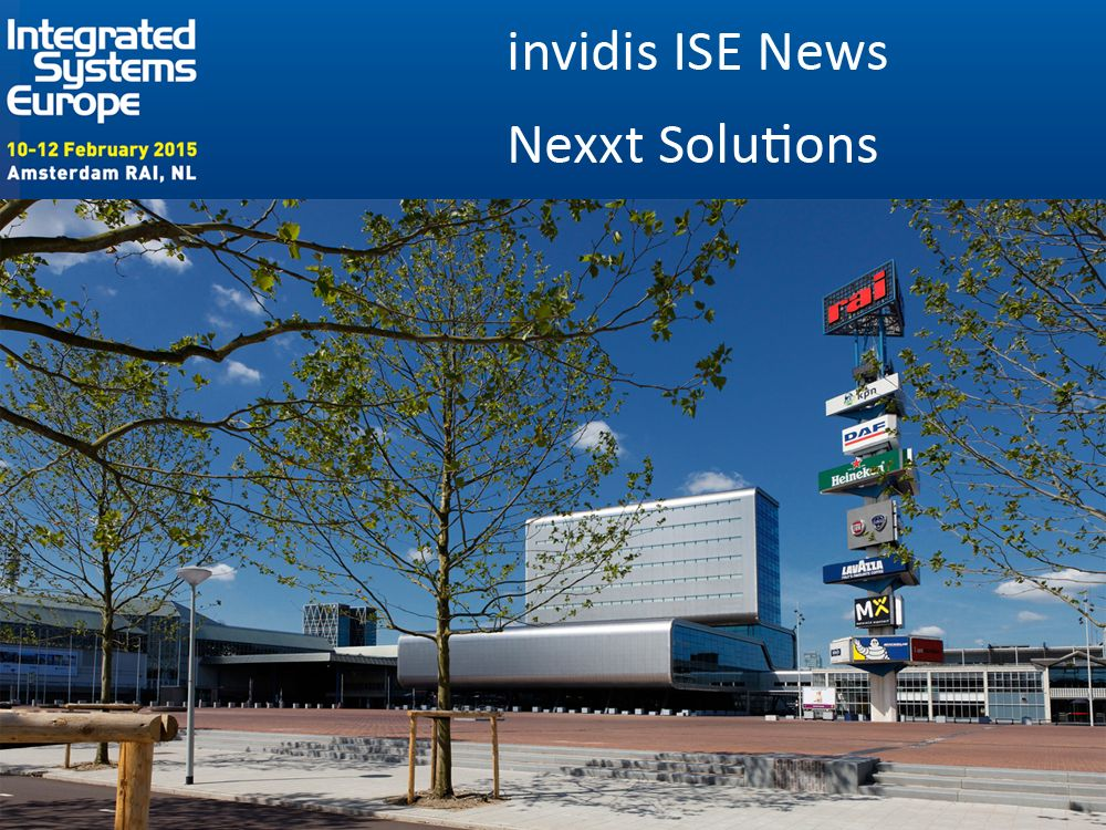 """Nexxt Solutions zeigt 7""""-Lösungen für Buchungs- und Blegungssysteme (Foto: RAI; Grafik: invidis)"""