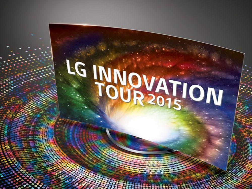 Quer durch die Republik unterwegs: LG Innovation Tour 2015 (Foto: LG)