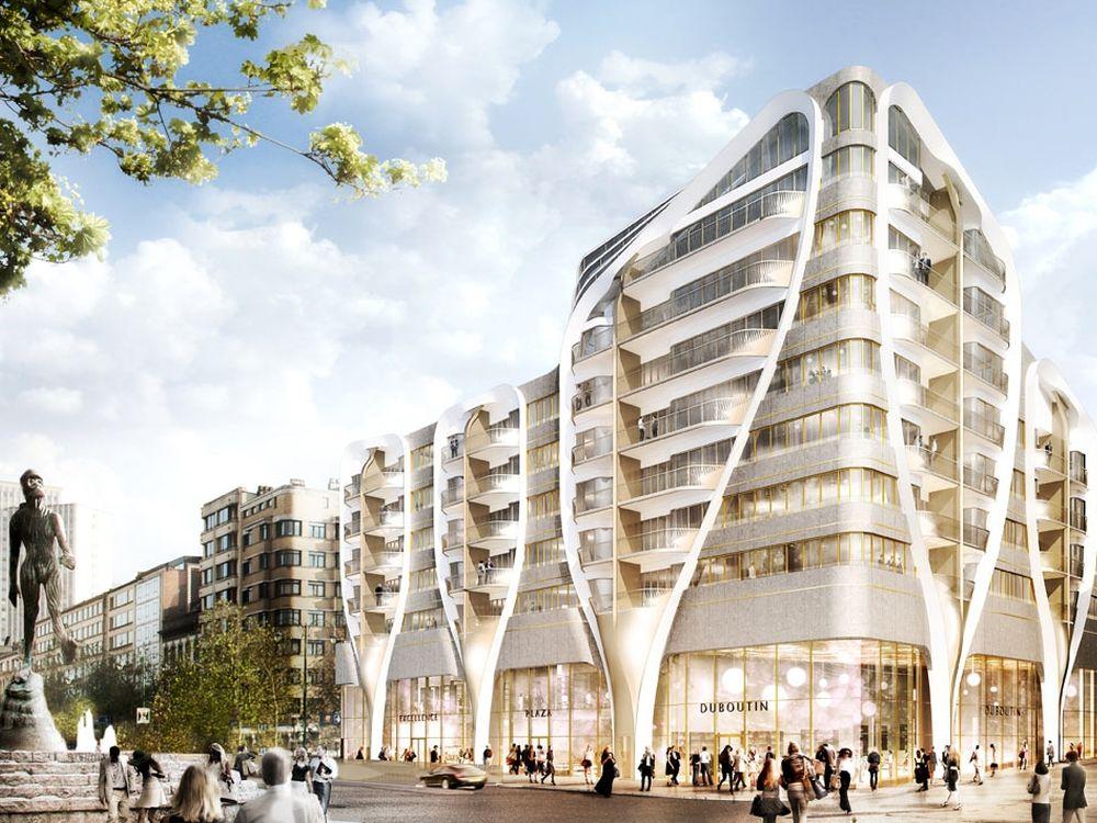 Standort des Apple Stores in Brüssel: Le Toison D'Or (Rendering: ProWinko)