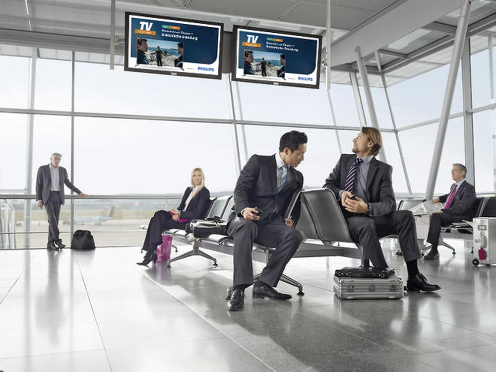 Philips TV-Tipp am Airport (Foto: Neo Group)