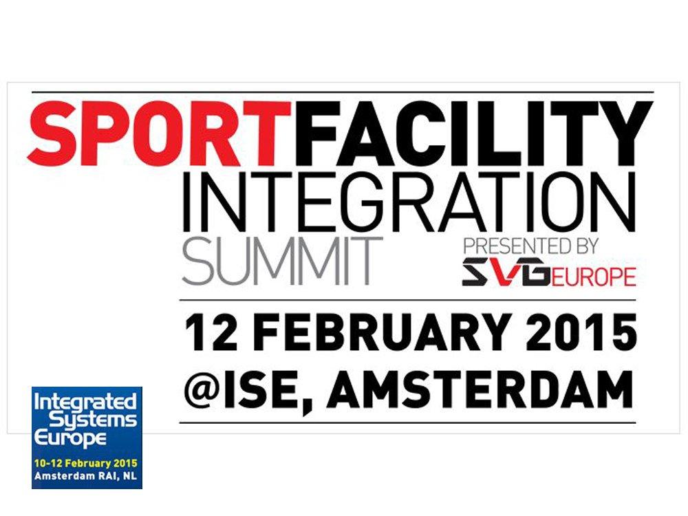 Sport Facility Integration Summit at ISE 2015 (Screenshot: invidis)