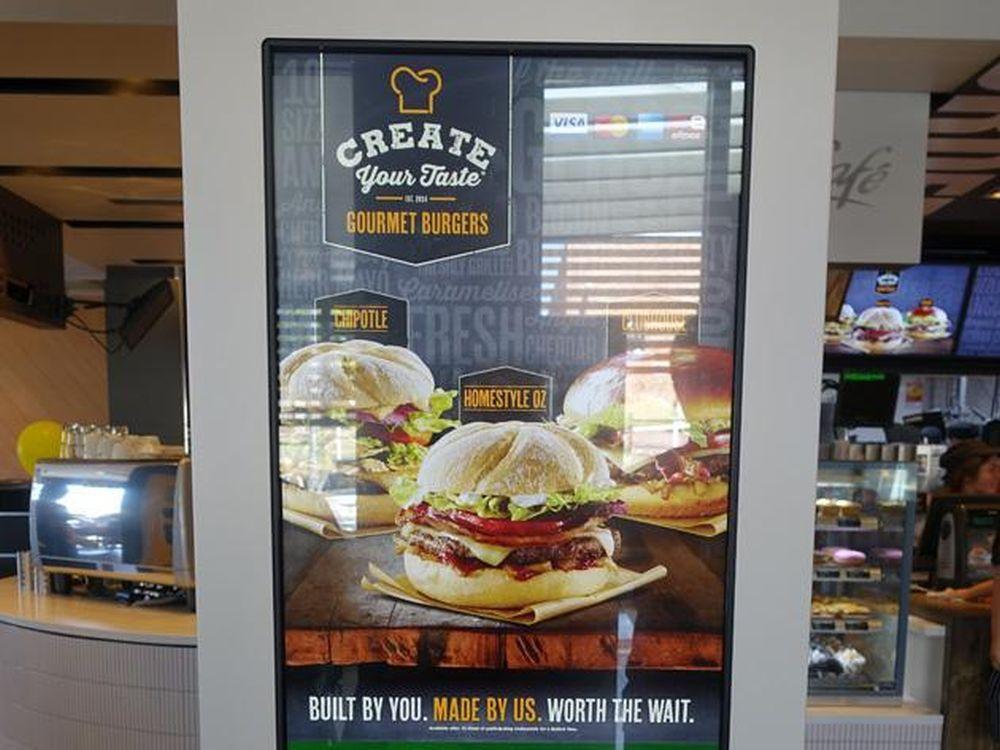 Touchscreen-Kiosk bei McDonald's (Foto: Joshua Jones)
