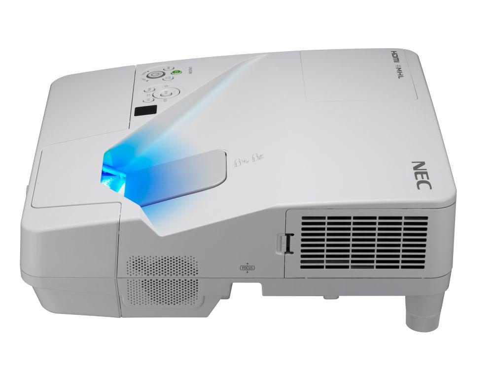 Neuer Ultra-Kurzdistanz-Projektor UM351W (Foto: NEC)