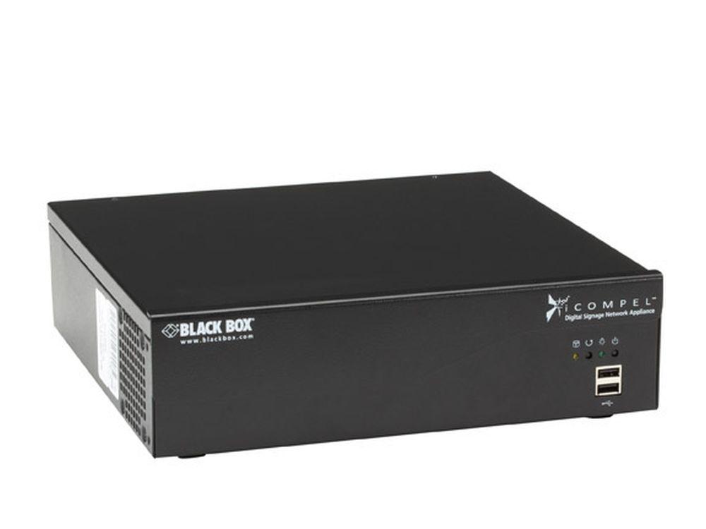 Ultra HD-Variante wird auf der ISE gezeigt: iCompel (Foto: Black Box)