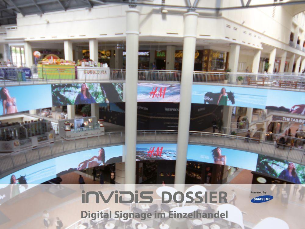 Neu: invidis-Dossier Digital Signage im Einzelhandel