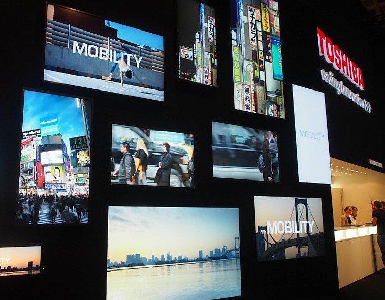 Toshiba auf der IFA 2014 (Foto: invidis)