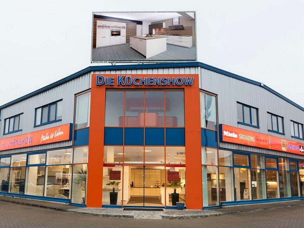 BIGLED-Installation bei Küchenshow nahe Kiel (Foto: BIGLED)