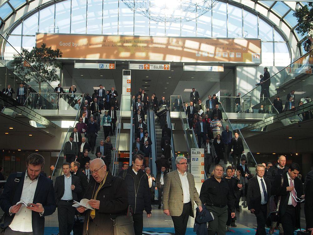 Besucher- und Ausstellerrekord auf der EuroCIS 2015 (Foto: invidis)