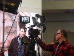 ISE 2015: Chris (l.) und Adrian (r.) beim Fotoshooting