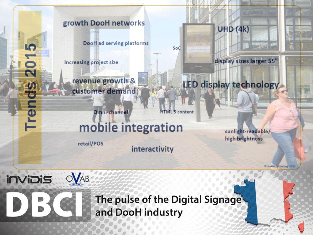 DBCI France: Trends 2015 (Foto: Defacto; Grafik, Montage: invidis)
