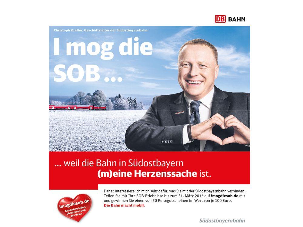 Erstes Motiv der Kampagne I mog die SOB (Foto: Serviceplan)
