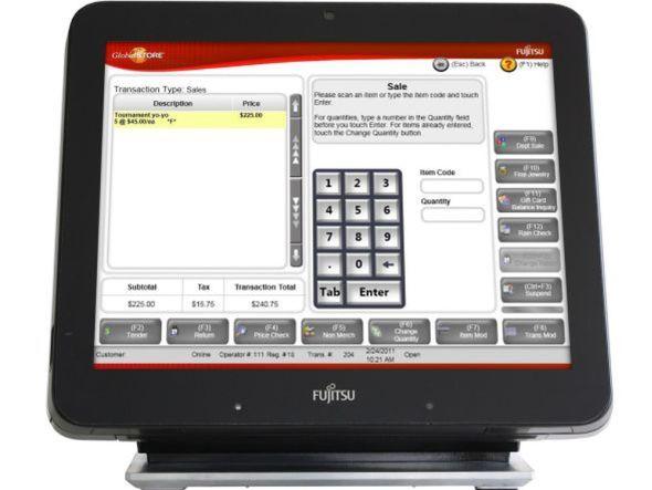 Fujitsu TeamPoS 7000 (Foto: Fujitsu)