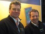 Gordon Schell und Sebastian Thies von Liondata (Foto: invidis)