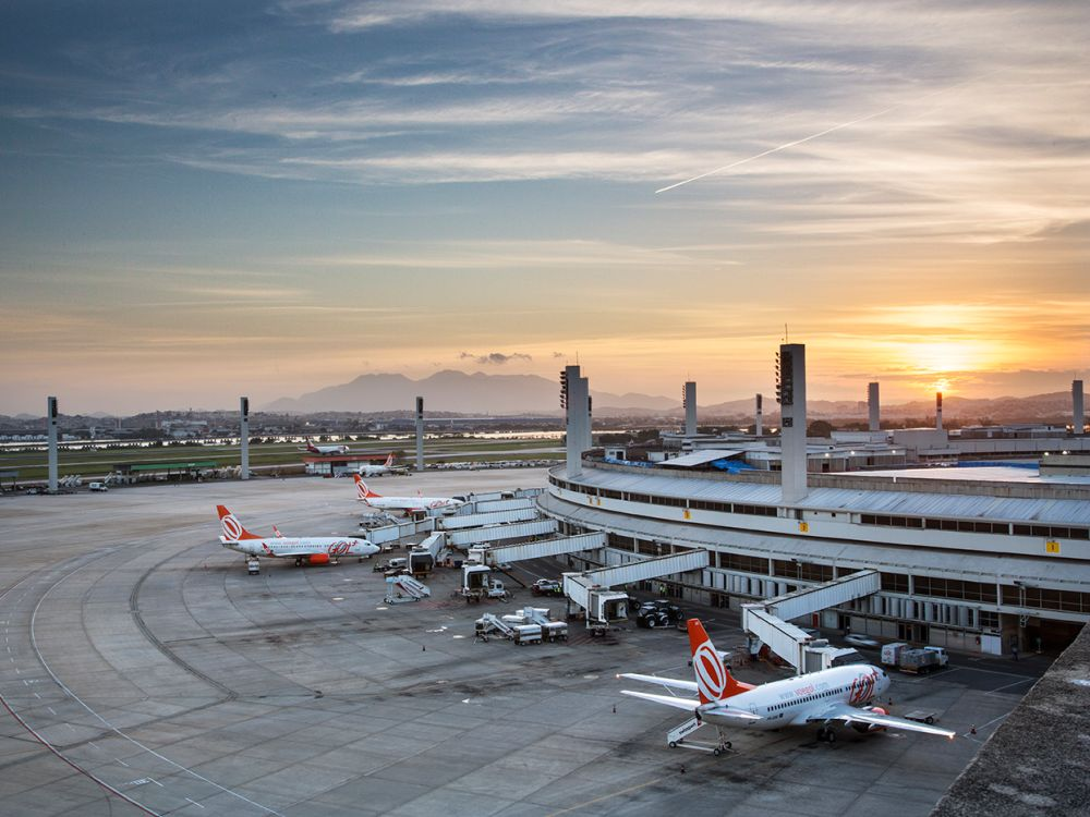 RIOgaleão ist flächenmäßig der größte Flughafen Brasiliens (Foto: RIOgaleão)