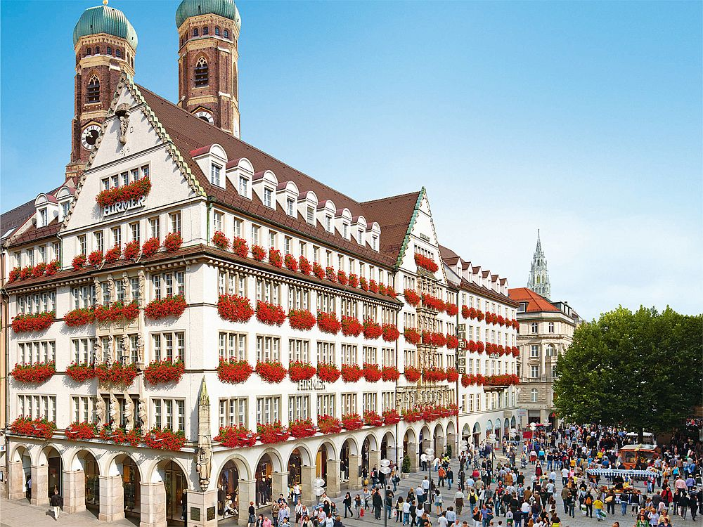 Herrenausstatter Hirmer: Stammhaus in München (Foto: Hirmer)