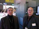 Franz Hintermayr und Swen Topp von Stino Eyevis (Bild: invidis)