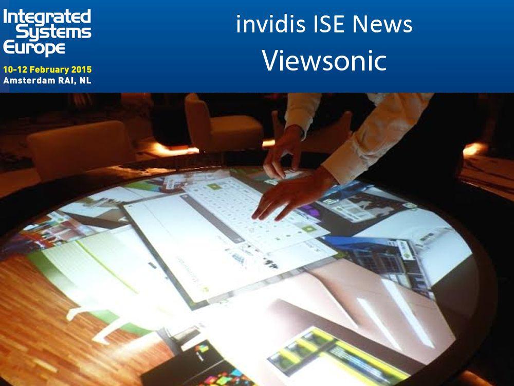 Viewsonic kommt mit zahlreichen Neuigkeiten auf die ISE