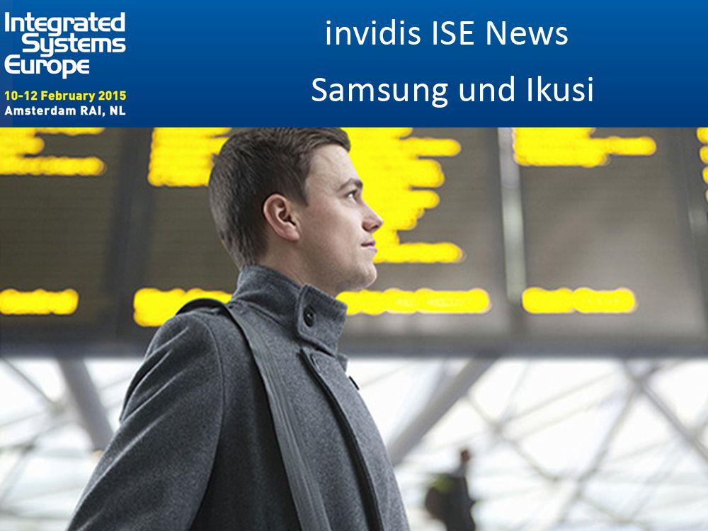 ISE 2015: Ikusi und Samsung zeigen SoC-basierte FIDS-Lösung (Foto: Samsung; Grafik: invidis)