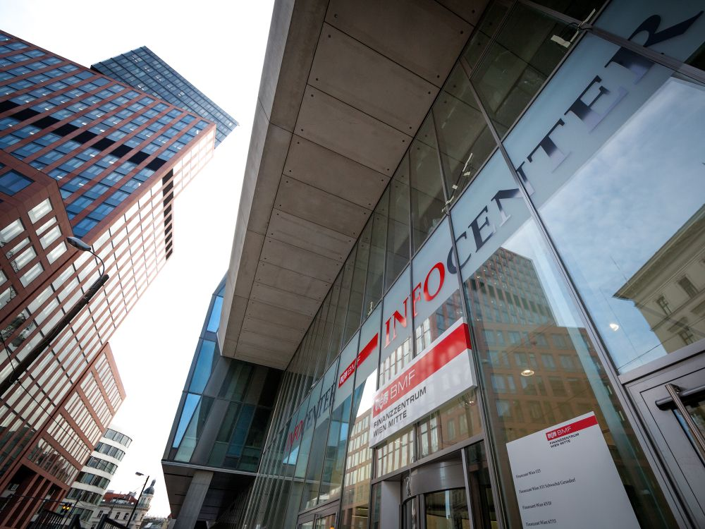 Infocenter des Finanzzentrums Wien Mitte (Foto: BMF / citronenrot)