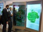 LG hat seine transparenten Displays weiterentwickelt. Sie sollen Mitte 2015 auf den Markt kommen (Fotos: invidis)