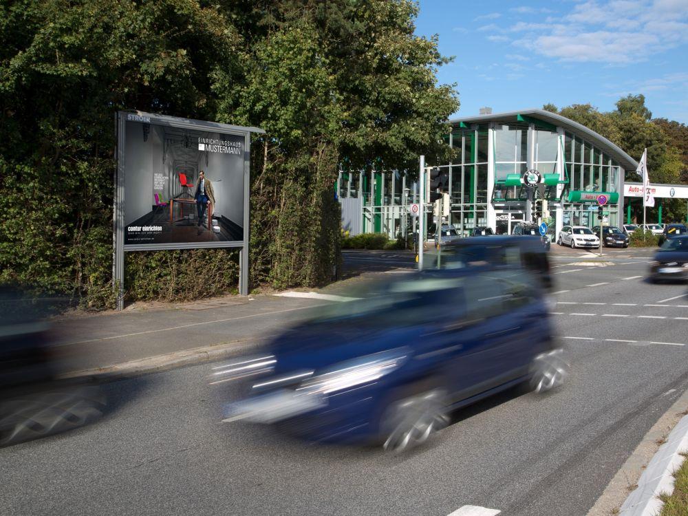 Europa Möbel Verbund buchte Plakatkampagne für Contur (Foto: PosterSelect)