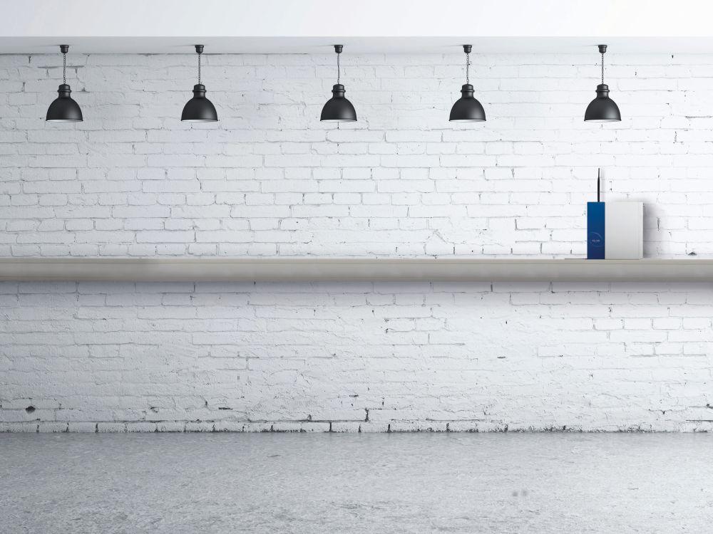 Kein Mauerblümchen, aber auch kein Störfaktor im Showroom: Pyramid-Server Filia 300 (Foto: Pyramid)
