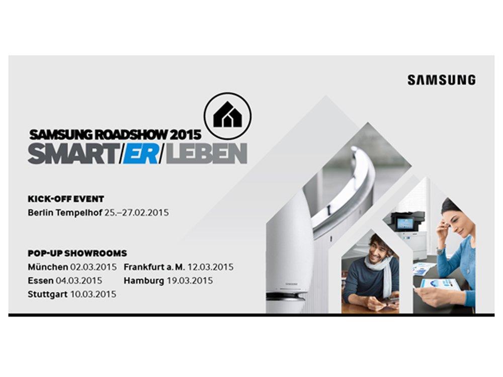 Samsung Roadshow 2015 (Bild: Samsung)