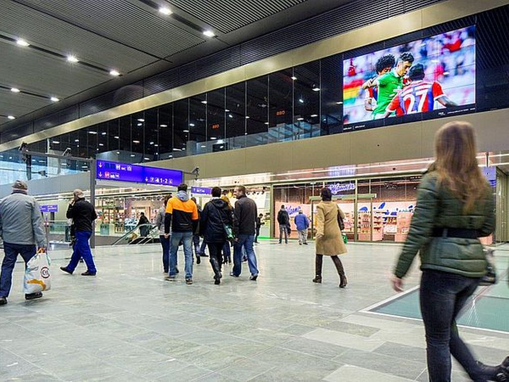 Screens des Railscreen Classic-Netzwerks der ÖBB (Foto: Zugkraft)