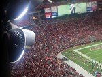 """StadiumPro"" LED Lösung im University of Phoenix Stadium (Foto: Ephesus Lighting)"