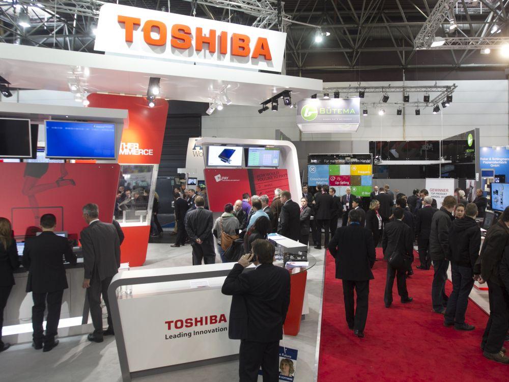 Stand von Toshiba auf der EuroCIS 2013 (Foto: Messe Düsseldorf)