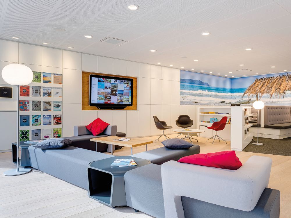 TUI-Konzept-Store in Stuttgart: Inspirationszone (Foto: TUI)