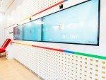 mBank: Video Wall Kiosk und Kinect-Kameras (Foto: mBank)