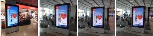 Gebr. Heinemann Duty free Kampagne zeigt die Stärke von DooH - Bildergalerie (bitte klicken)