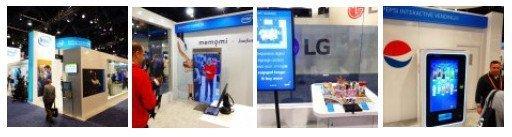 Intel zeigt Digital Signage der Zukunft - Bildergalerie zum Durchklicken