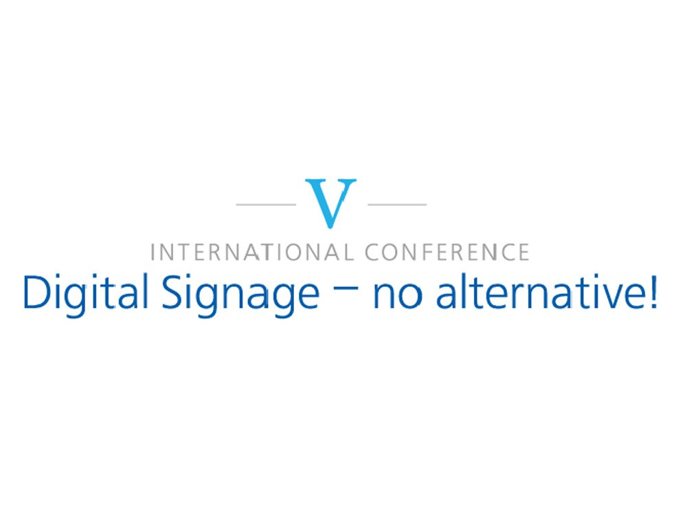 """V. Digital Signage - no alternative!"" will be held in Moscow (Image: DigiSky)"
