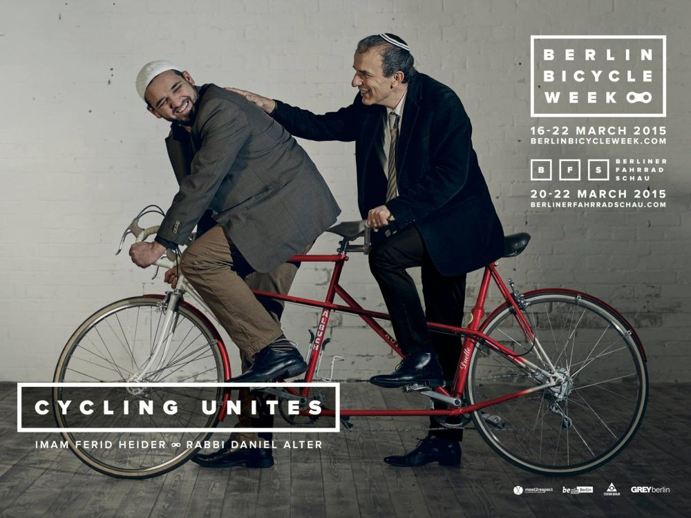 Berlin Bicycle Week 2015 - Außenwerbemotiv (Foto: Grey)