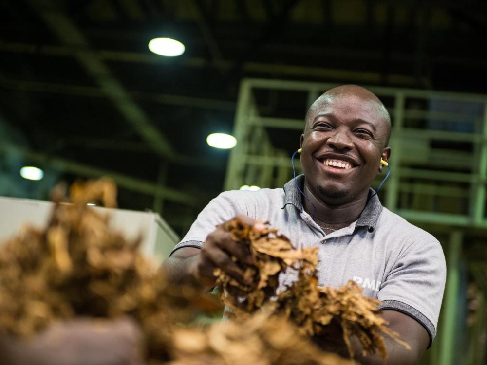 Camel, Drum und HB haben in der Schweiz nichts zu lachen - in einer Tabakfabrik in Nigeria (Foto: British American Tobacco)