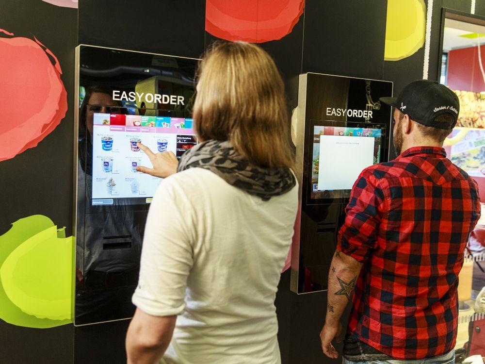 Easy Order-Terminals bei McDonald's (Foto: McDonald's)