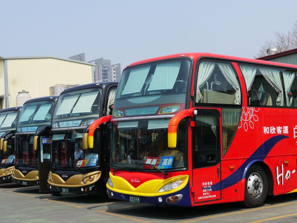 Entertainment im umkämpften Bus-Markt: Busse von Ho-Hsin (Foto: VIA Technologies)