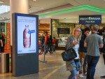 Hamburger Shopping Mall während der Abverkaufskampagne (Foto: Ströer)