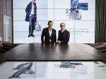 Hilfinger CEO Daniel Grieder und Tommy Hilfiger im neuen Showroom (Foto: Business Wire)