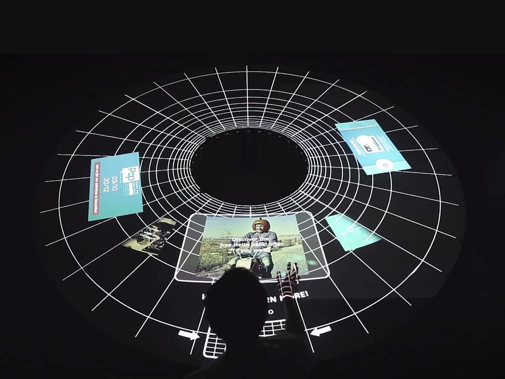 Interaktiver AR Tisch Polar (Screenshot: invidis)