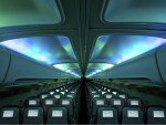 LED Lighting in der Hekla Borealis (Foto: Icelandair)